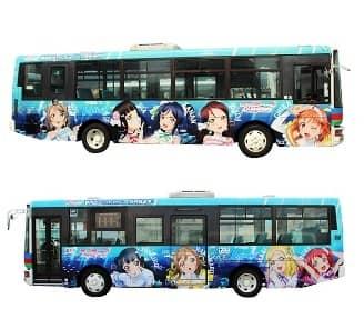 伊豆箱根バス:ラッピングバス1号車