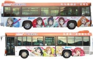 東海バス:ラッピングバス1号車