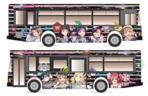 伊豆箱根バス:ラッピングバス3号車