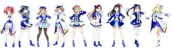 ラブライブ!サンシャイン!! Aqours 3rd LoveLive! Tour~WONDERFUL STORIES~ Blu-ray Memorial BOX:ポーズイラスト