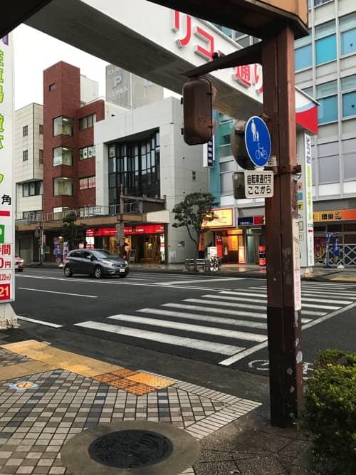 桜内梨子マンホール(黒)設置場所
