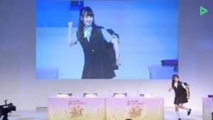 スクフェス感謝祭2019虹ヶ咲学園スクールアイドル同好会ステージ:グッズ紹介(かおりん)