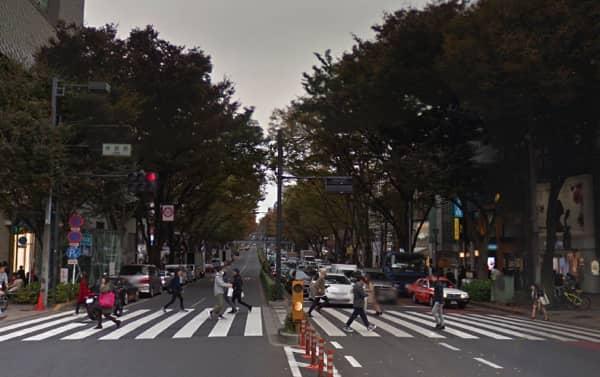 東京:表参道(交差点)
