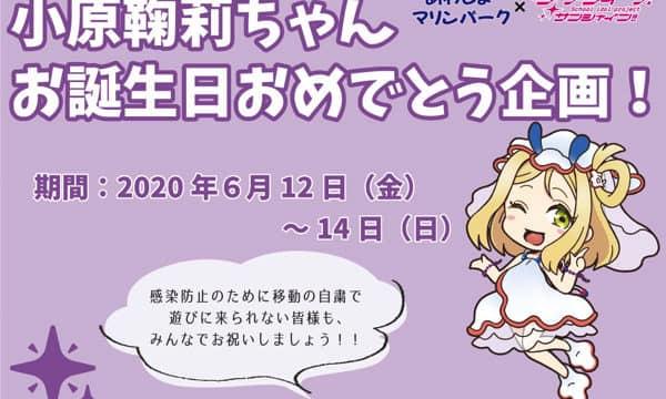 鞠莉ちゃんバースデーよくばりセットが3日間限定!特別通販を実施!!「ラブライブ!サンシャイン!!」