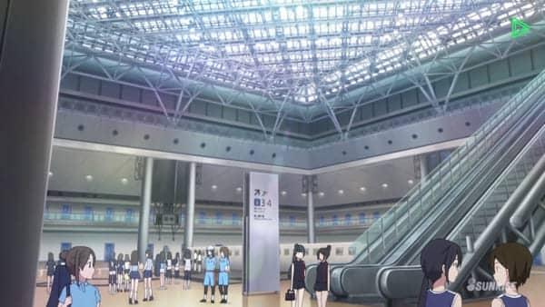 東京ビックサイト 西展示棟アトリウム