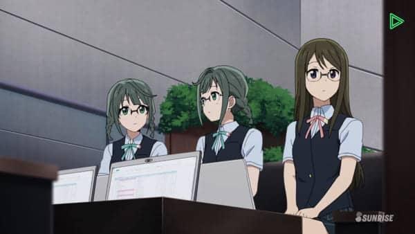 東京ビックサイト 生徒会メンバーの双子ちゃん可愛い