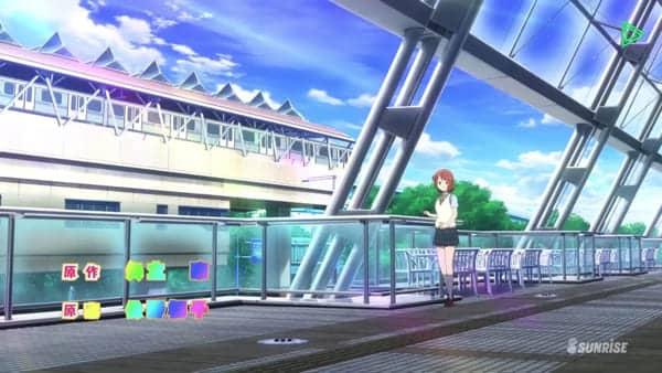 東京TFTビル2Fにいる笑顔の歩夢