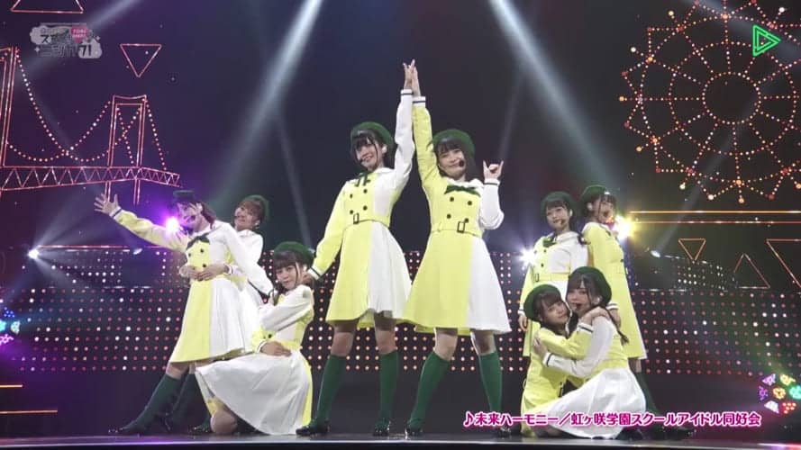2020年09月開催:の2ndライブ「Brand New Story」「Back to the TOKIMEKI」のライブ映像とバックステージコメント(「Brand New Story」は、ひなきちゃんも会場に居たようです)
