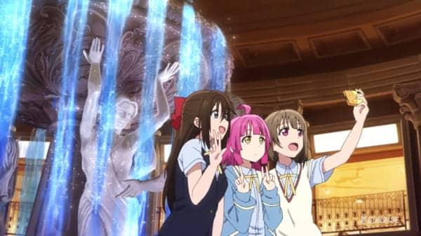 噴水広場(2F)第8話「しずく、モノクローム」まとめ(聖地巡礼・キャスト実況ツイート)「ラブライブ!虹ヶ咲学園スクールアイドル同好会」